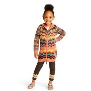 Missoni for Target Girls Zig Zag Hooded cardigan 4